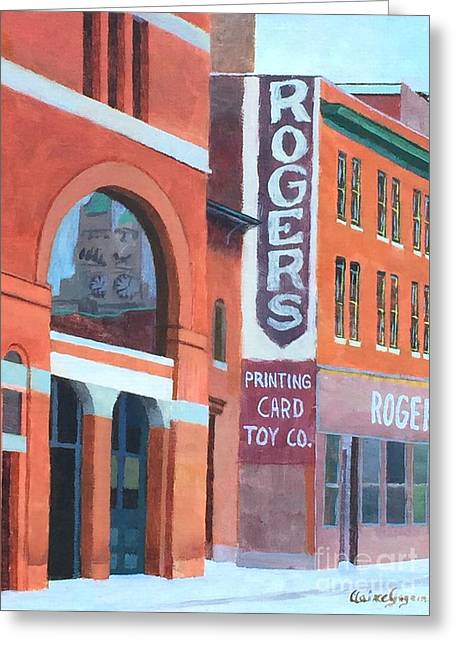 Rogers Greeting Card by Claire Gagnon