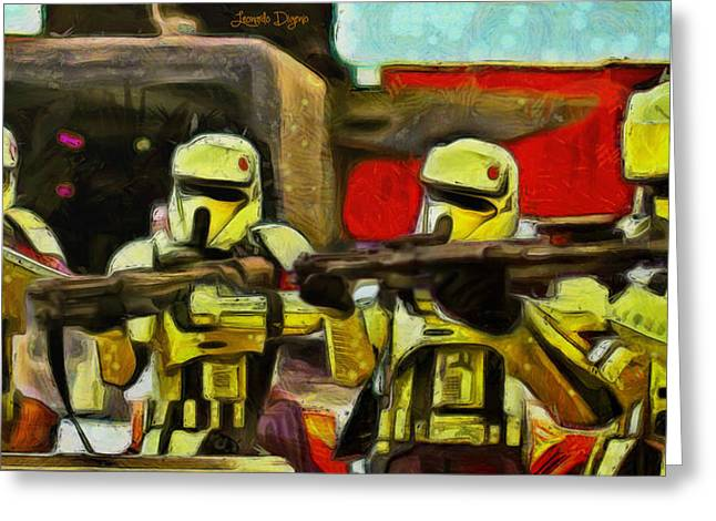 Rogue One Arrested - Pa Greeting Card