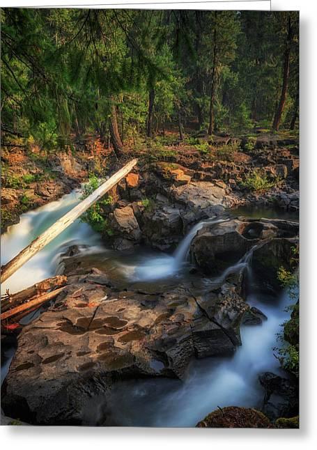 Rogue River Greeting Card