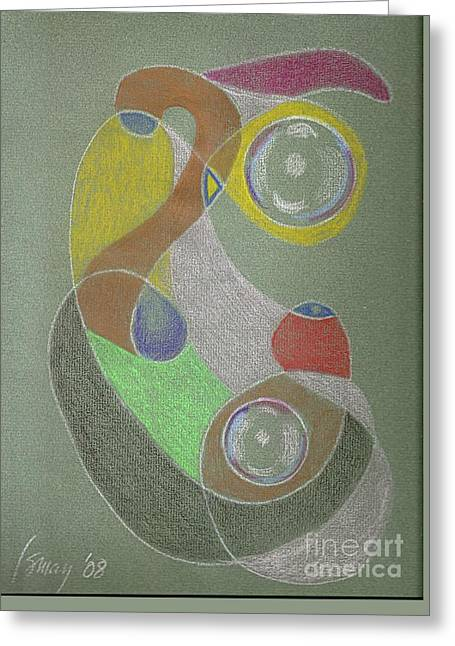 Roley Poley Vertical Greeting Card by Rod Ismay