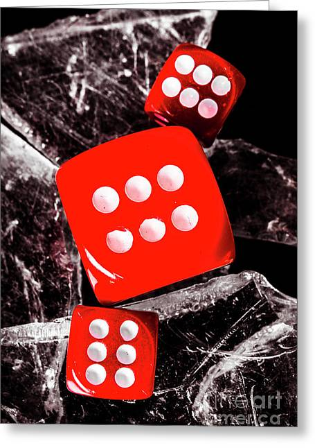 Roll Play Of Still Life Greeting Card by Jorgo Photography - Wall Art Gallery