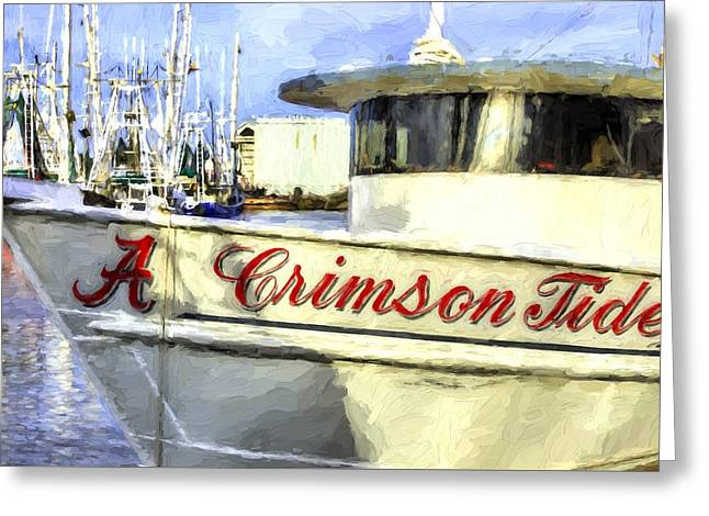 Roll Tide Roll Greeting Card by JC Findley