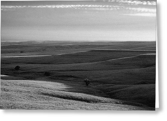 Greeting Card featuring the photograph Rolling Hills by Thomas Bomstad