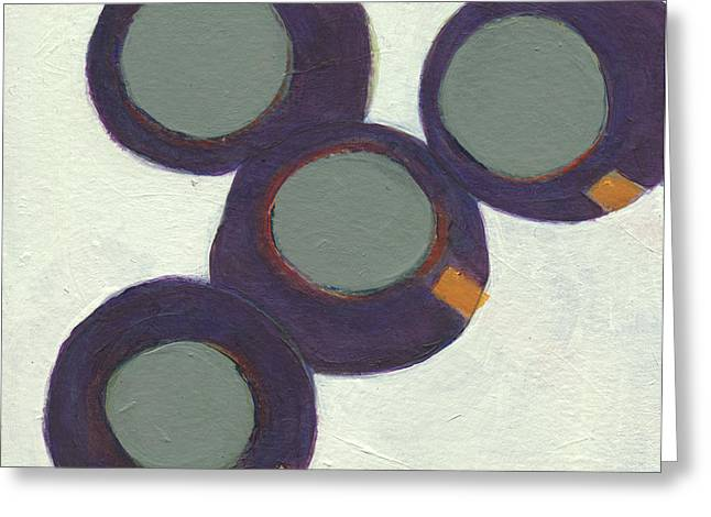 Rolling On 1 Greeting Card by Jean Beal