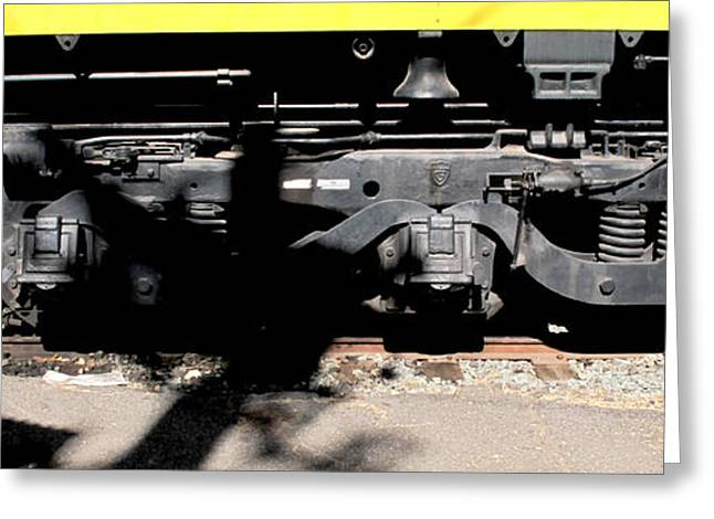 Greeting Card featuring the photograph Rolling Power by Larry Darnell