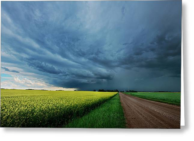 Rolling Storm Greeting Card
