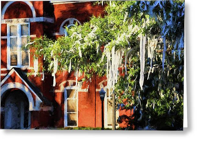 Rolling Toomer's And Hargis Hall Greeting Card by JC Findley