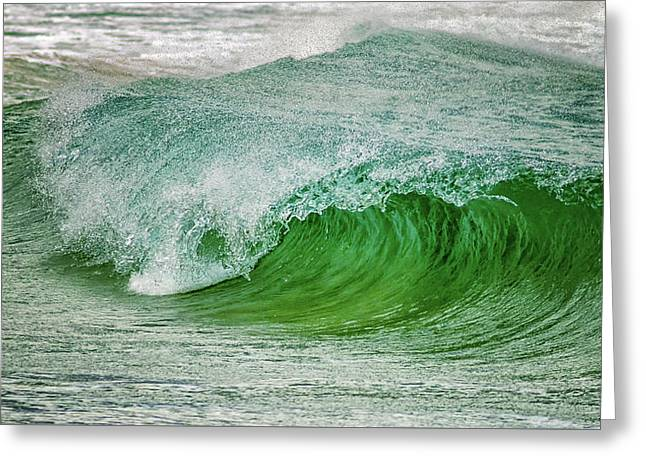 Rolling Wave Greeting Card