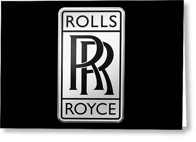 Rolls Royce Greeting Card