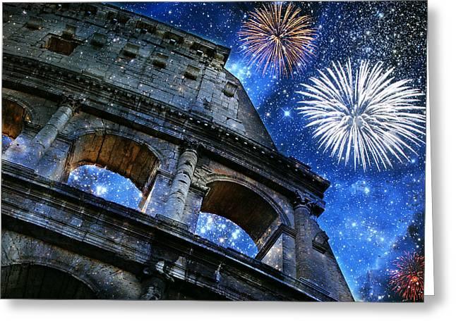 Roman Holiday Greeting Card