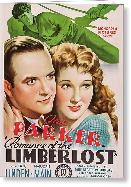 Romance Of The Limberlost 1938 Greeting Card by Mountain Dreams