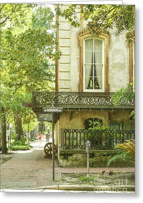 Romance. Savannah Greeting Card by Ksenia VanderHoff