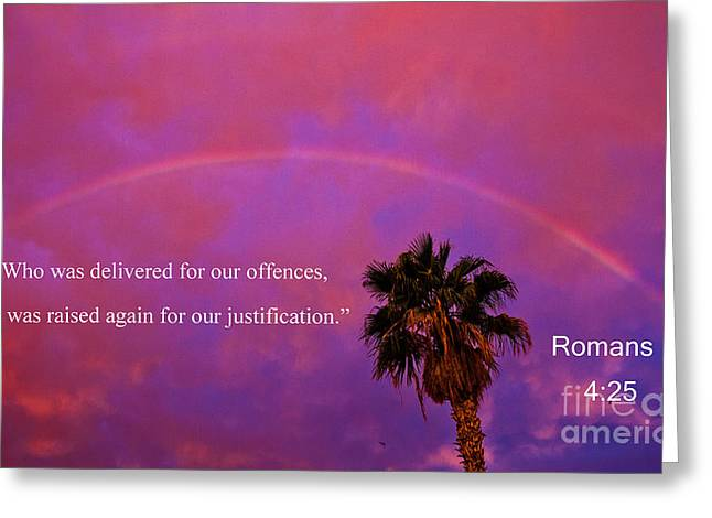 Romans 4 Greeting Card by Robert Bales