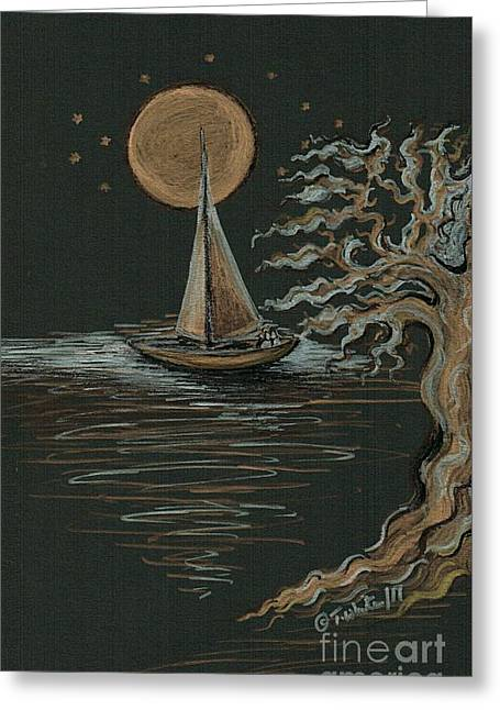 Romantic Evening  Greeting Card