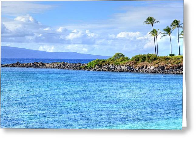 Greeting Card featuring the photograph Romantic Kapalua  by Kelly Wade
