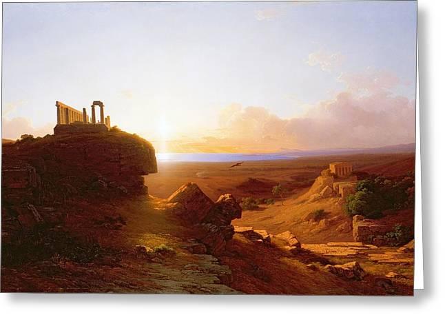 Romantic Landscape Greeting Card