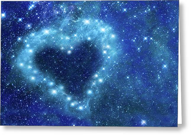 Romantic Night Greeting Card