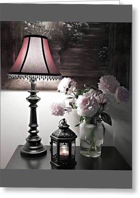 Romantic Nights Greeting Card