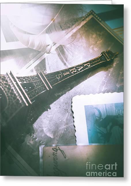 Romantic Paris Memory Greeting Card