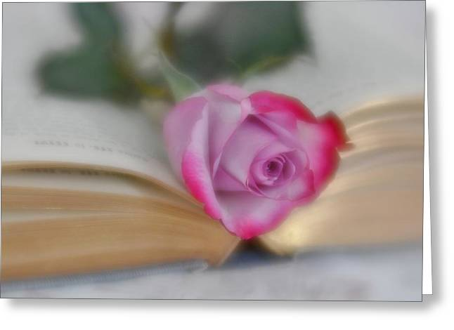 Greeting Card featuring the photograph Romantic Read by Diane Alexander