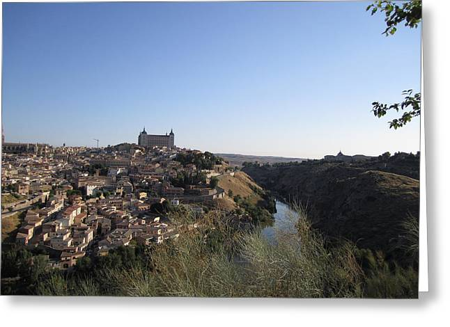 Romantic Toledo Greeting Card