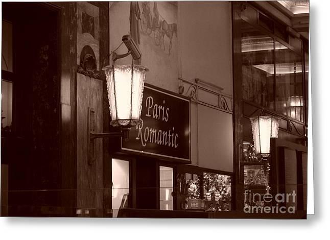 Romantica Parigi Greeting Card