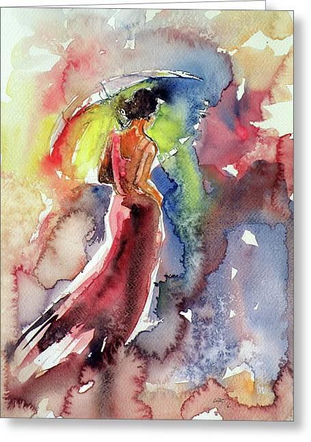 Romanticism Greeting Card by Kovacs Anna Brigitta