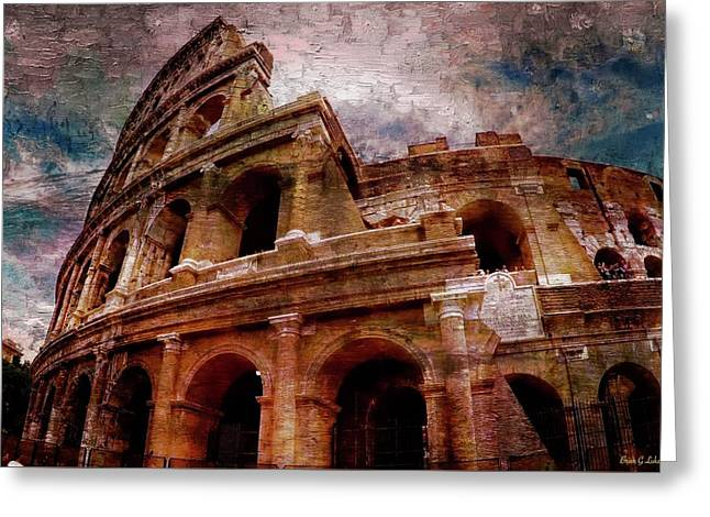 Rome -  Greeting Card by Brian Lukas