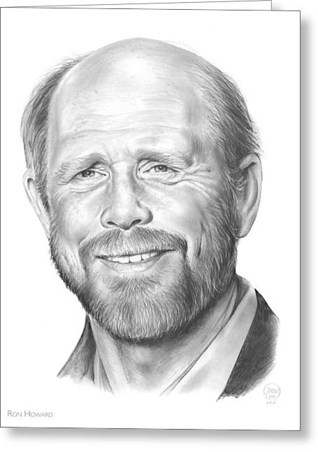 Ron Howard Greeting Card by Greg Joens