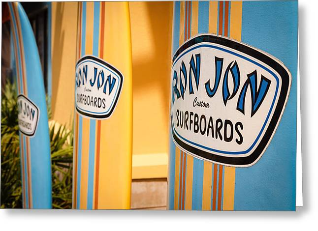 Ron Jon Surf Boards Greeting Card