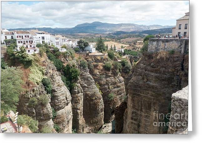 Ronda And The El Tajo Gorge 2 Greeting Card