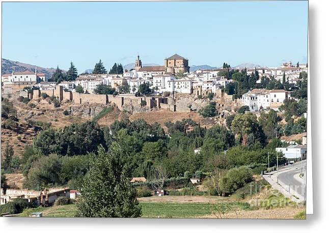Ronda Old Town Greeting Card