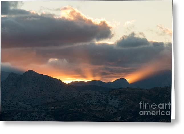 Ronda Sunset Greeting Card