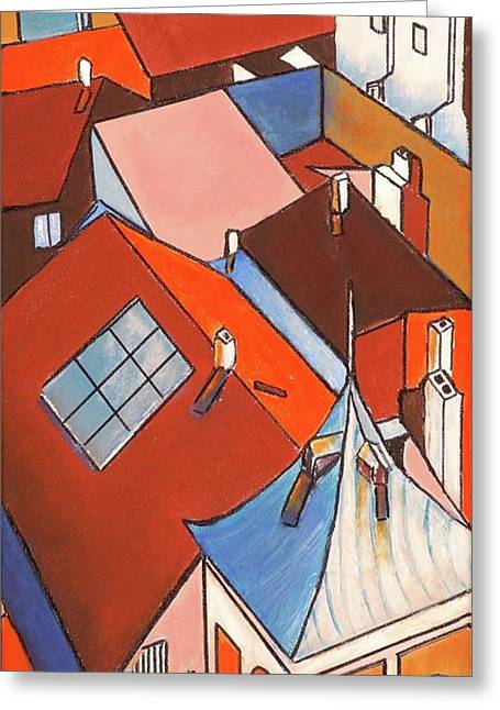 Roofs  1 Greeting Card