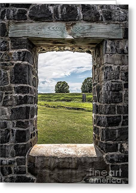 Room With A View Greeting Card by Edward Fielding