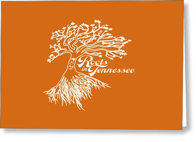 Roots In Tennessee Greeting Card by Heather Applegate