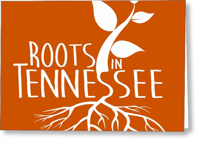 Roots In Tennessee Seedlin Greeting Card