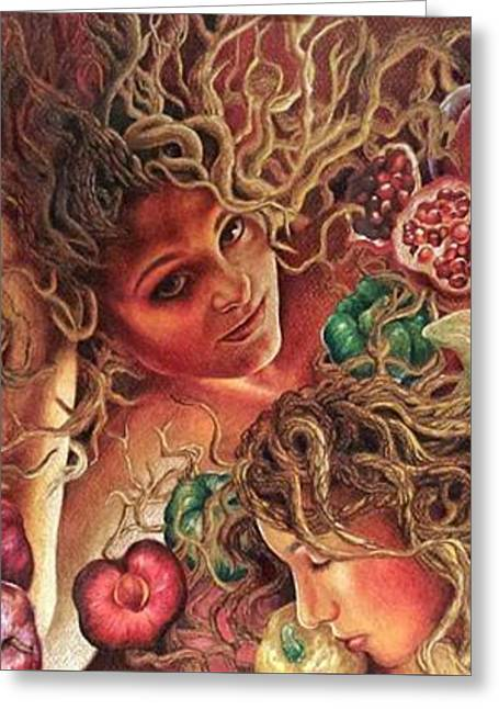 Roots Greeting Card by Sonja Funnell