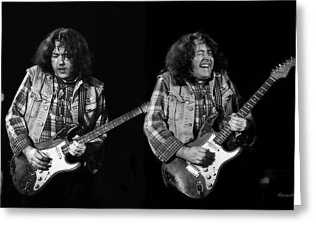 Rory Gallagher 5 Greeting Card
