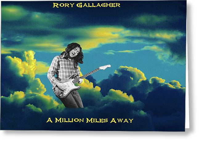 Greeting Card featuring the photograph Rory Million Miles Away by Ben Upham