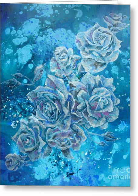 Rosa Stellarum Greeting Card