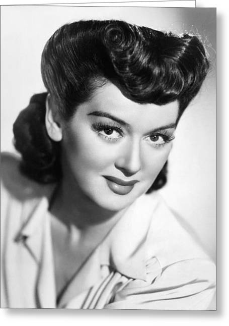 Rosalind Russell Greeting Card by Granger