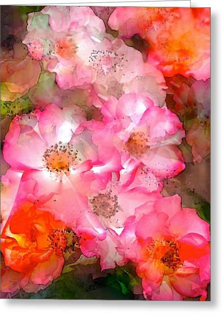 Rose 140 Greeting Card by Pamela Cooper