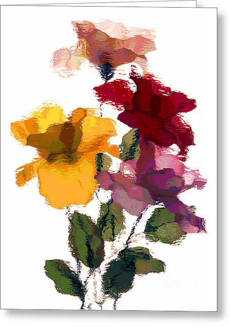 Rose 5 Greeting Card