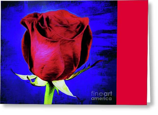 Rose - Beauty And Love  Greeting Card