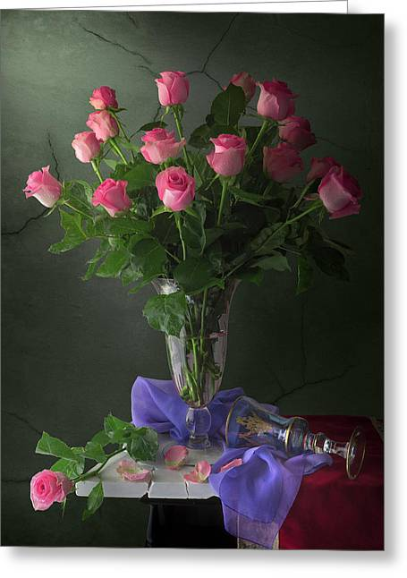Rose Blossoms Greeting Card