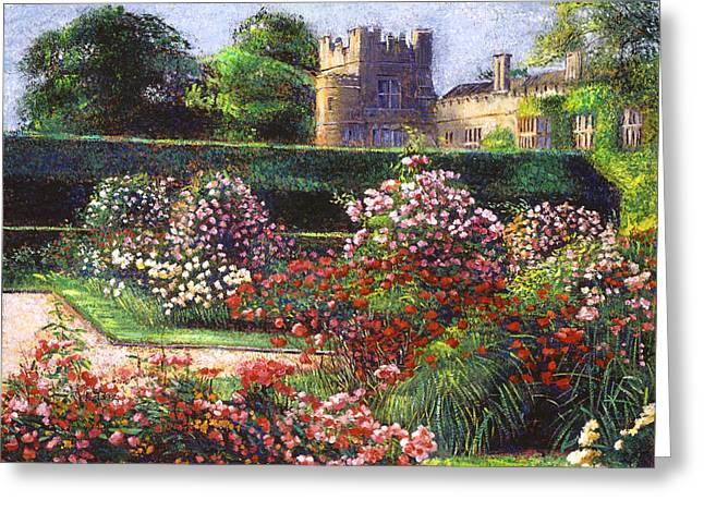 Rose Castle Greeting Card by David Lloyd Glover