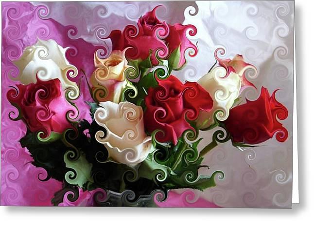 Rose Dreams Greeting Card