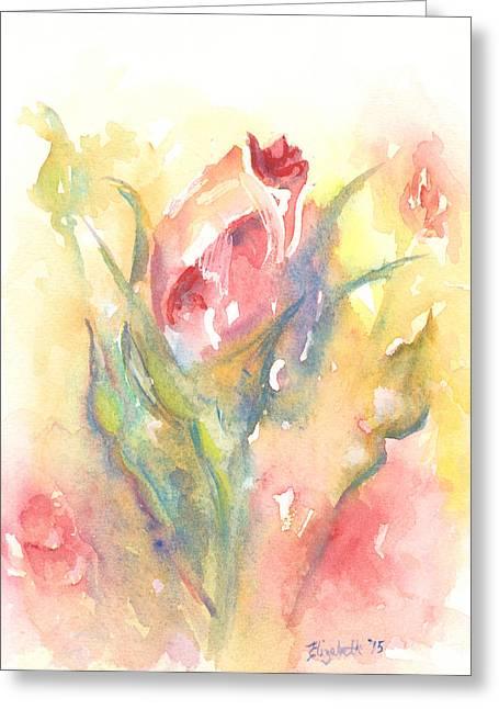 Rose Garden One Greeting Card