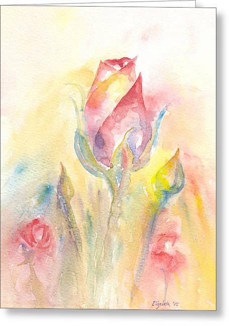 Rose Garden Two Greeting Card